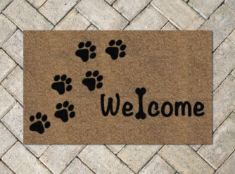 Dog-Welcome-brick